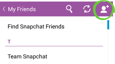 Add snapchat friend